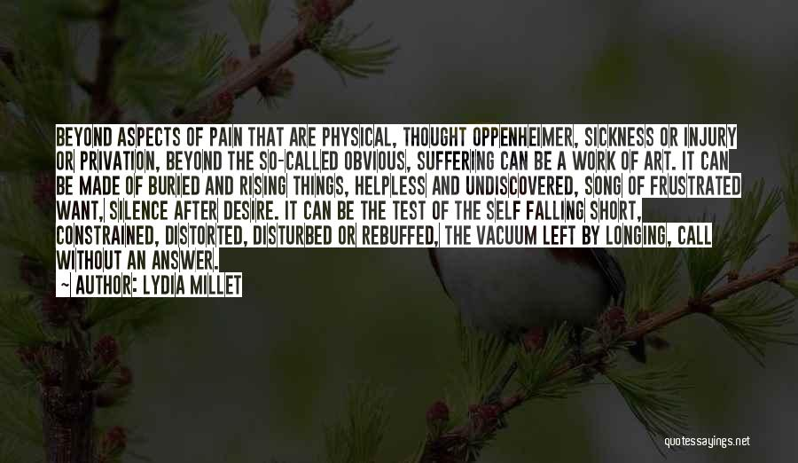 Privation Quotes By Lydia Millet