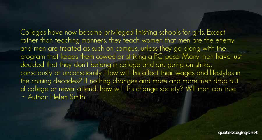 Privileged Class Quotes By Helen Smith