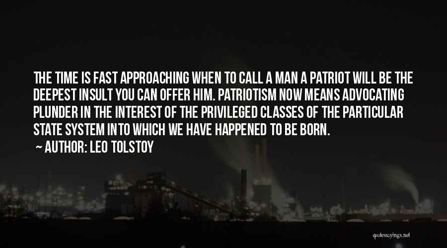 Privileged Class Quotes By Leo Tolstoy
