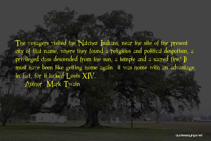 Privileged Class Quotes By Mark Twain