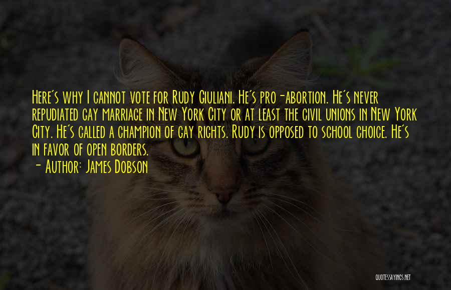 Pro Choice Quotes By James Dobson