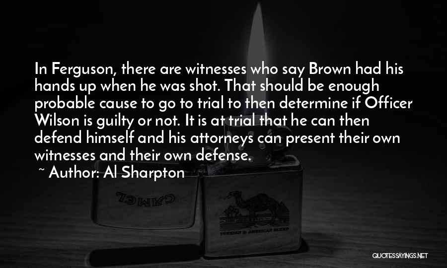 Probable Cause Quotes By Al Sharpton