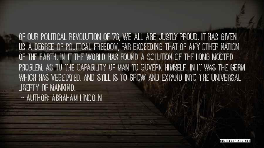 Problem Has Solution Quotes By Abraham Lincoln