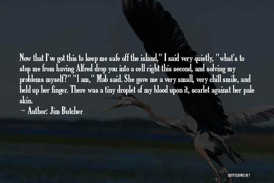 Problems And Smile Quotes By Jim Butcher