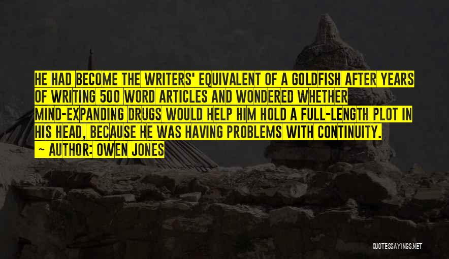 Problems And Smile Quotes By Owen Jones
