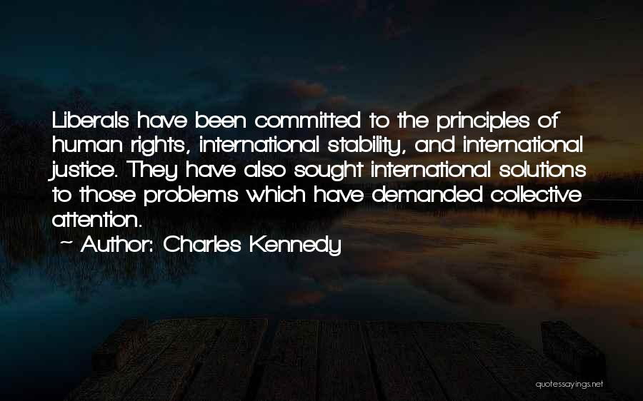Problems Have Solutions Quotes By Charles Kennedy
