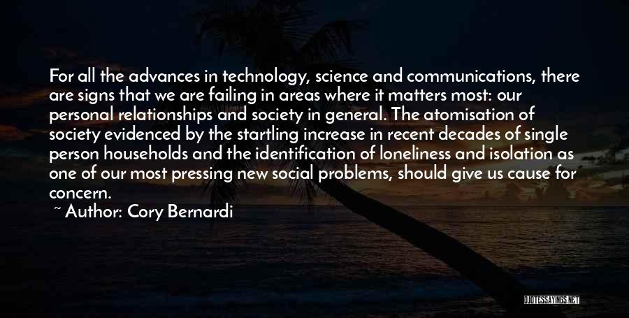 Problems In Relationships Quotes By Cory Bernardi