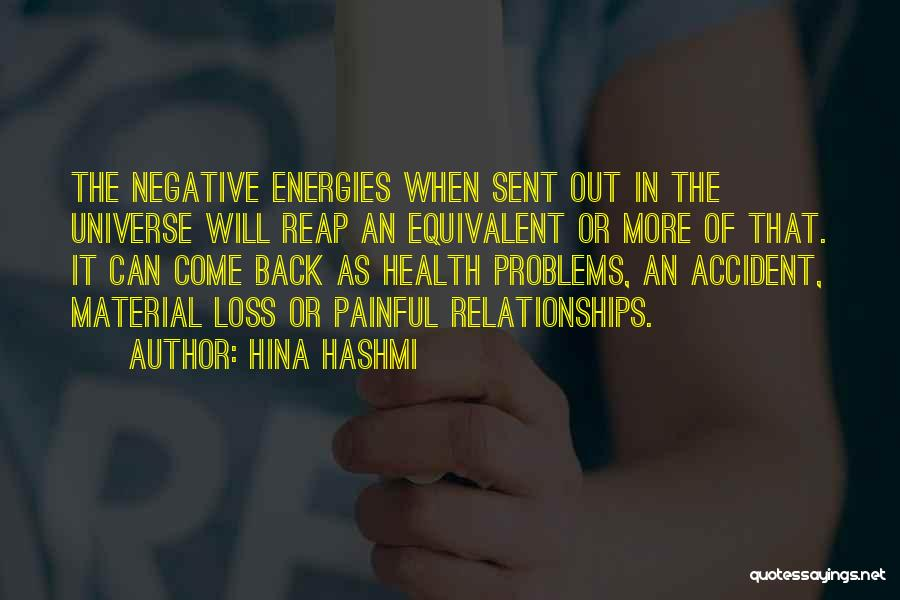 Problems In Relationships Quotes By Hina Hashmi