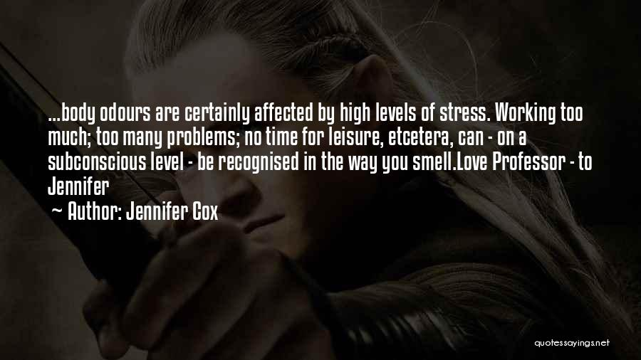 Problems In Relationships Quotes By Jennifer Cox