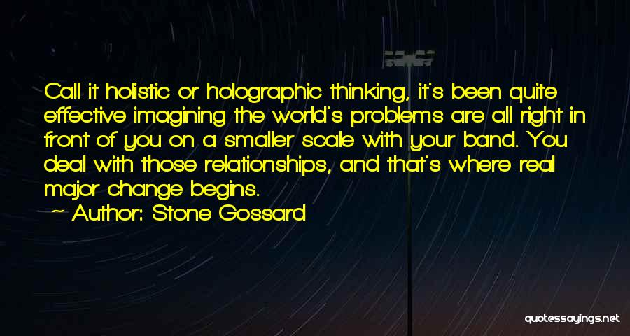 Problems In Relationships Quotes By Stone Gossard