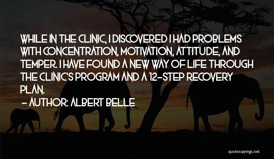 Problems Of Life Quotes By Albert Belle