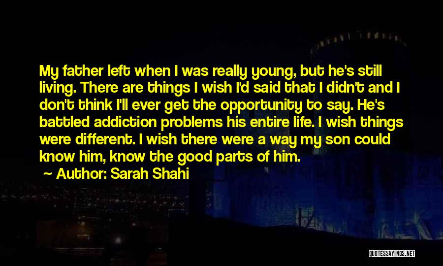 Problems Of Life Quotes By Sarah Shahi