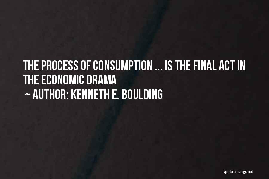 Process Drama Quotes By Kenneth E. Boulding