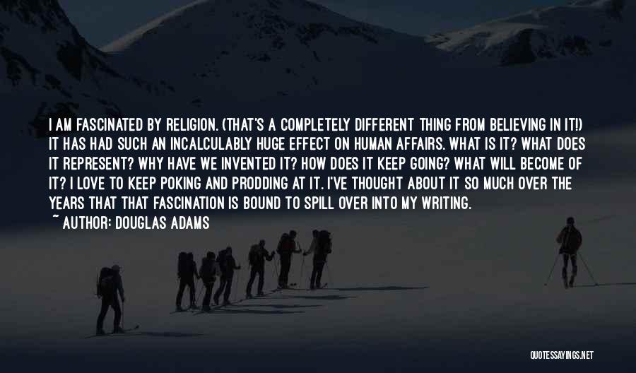 Prodding Quotes By Douglas Adams