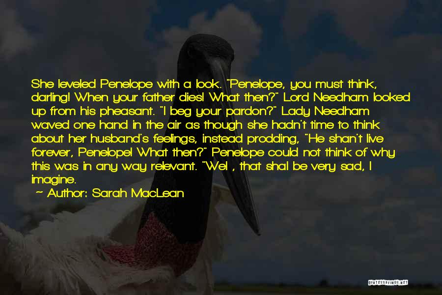 Prodding Quotes By Sarah MacLean