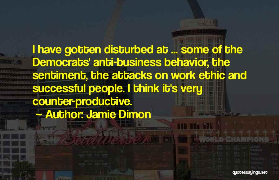 Productive Work Quotes By Jamie Dimon