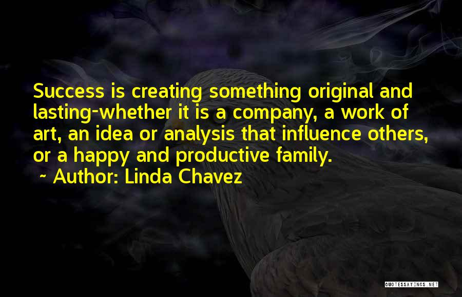 Productive Work Quotes By Linda Chavez