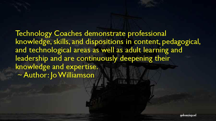 Professional Skills Quotes By Jo Williamson