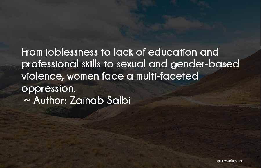 Professional Skills Quotes By Zainab Salbi