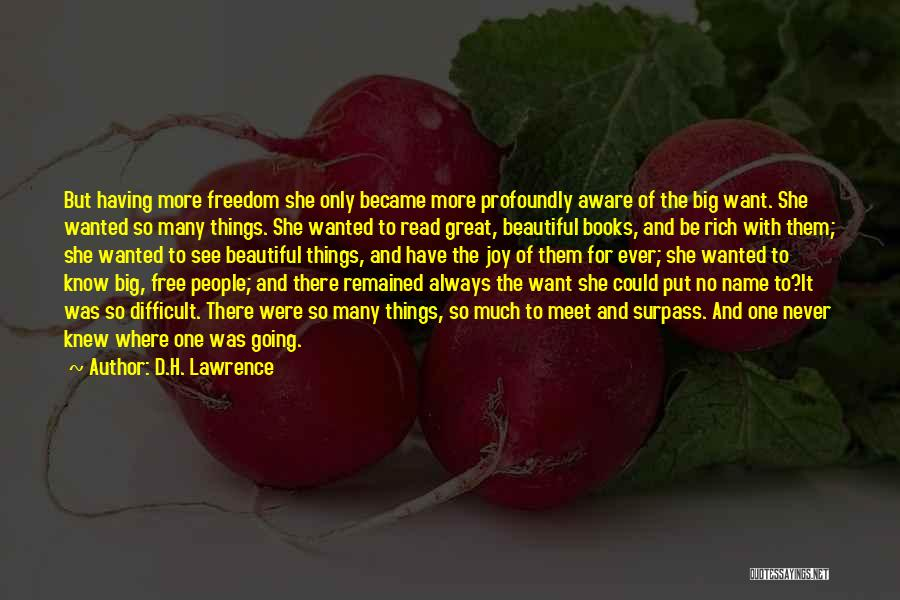 Profoundly Beautiful Quotes By D.H. Lawrence