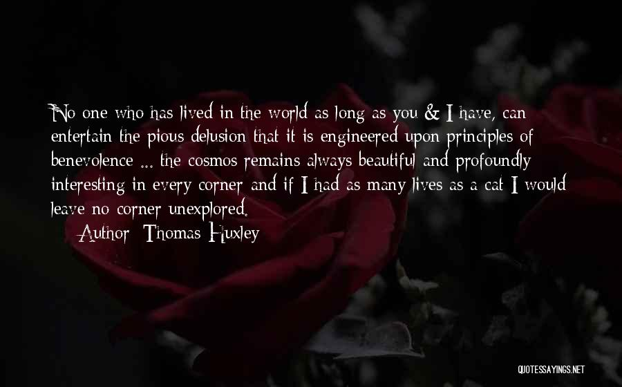 Profoundly Beautiful Quotes By Thomas Huxley