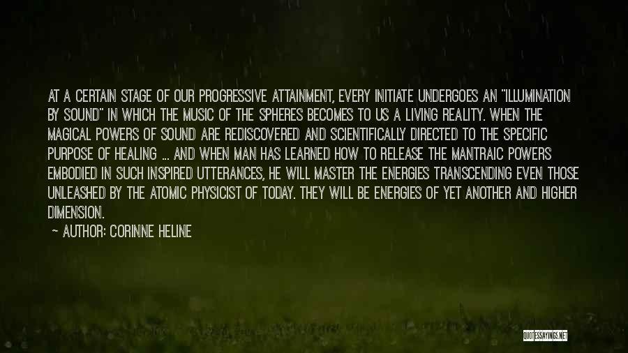 Progressive Music Quotes By Corinne Heline