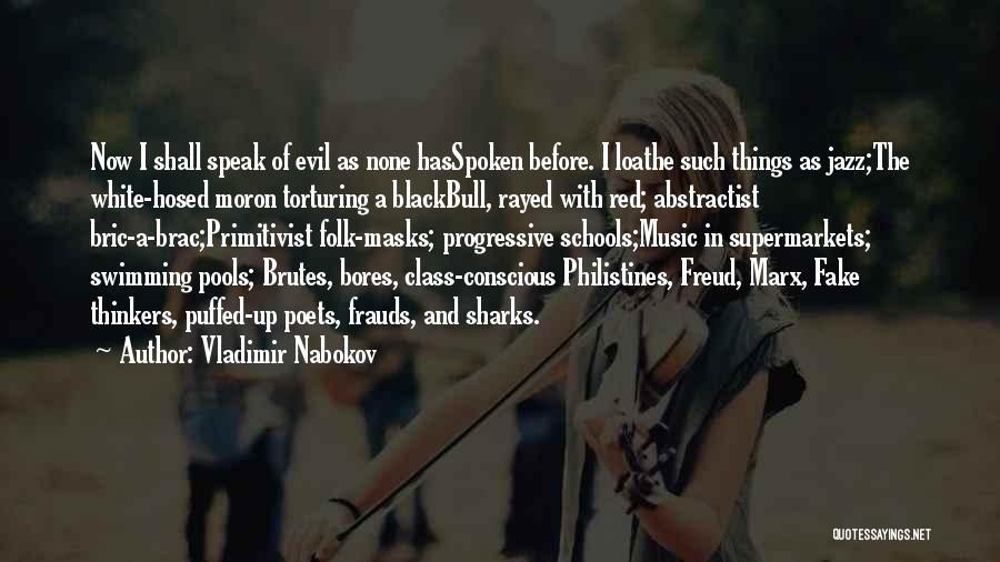 Progressive Music Quotes By Vladimir Nabokov
