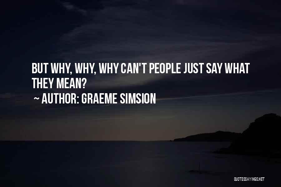 Project Rosie Quotes By Graeme Simsion