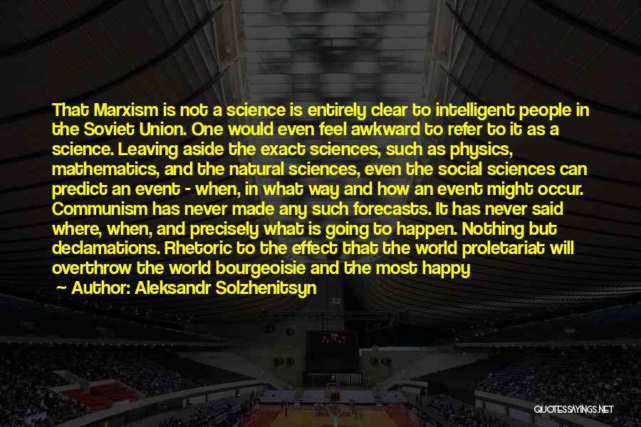 Proletariat Quotes By Aleksandr Solzhenitsyn