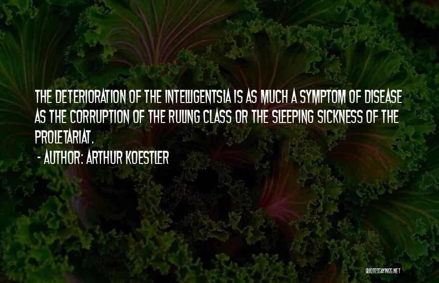 Proletariat Quotes By Arthur Koestler