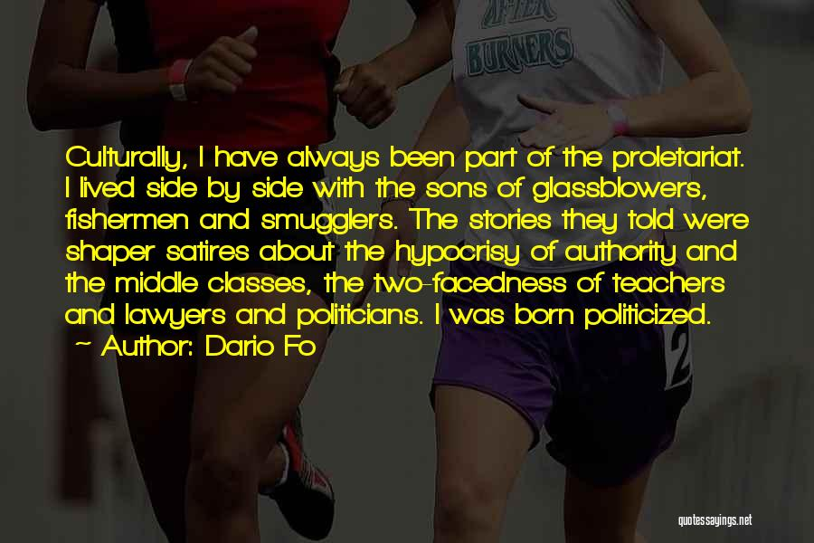 Proletariat Quotes By Dario Fo