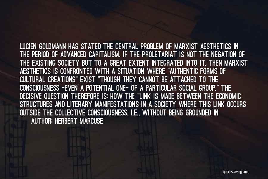 Proletariat Quotes By Herbert Marcuse