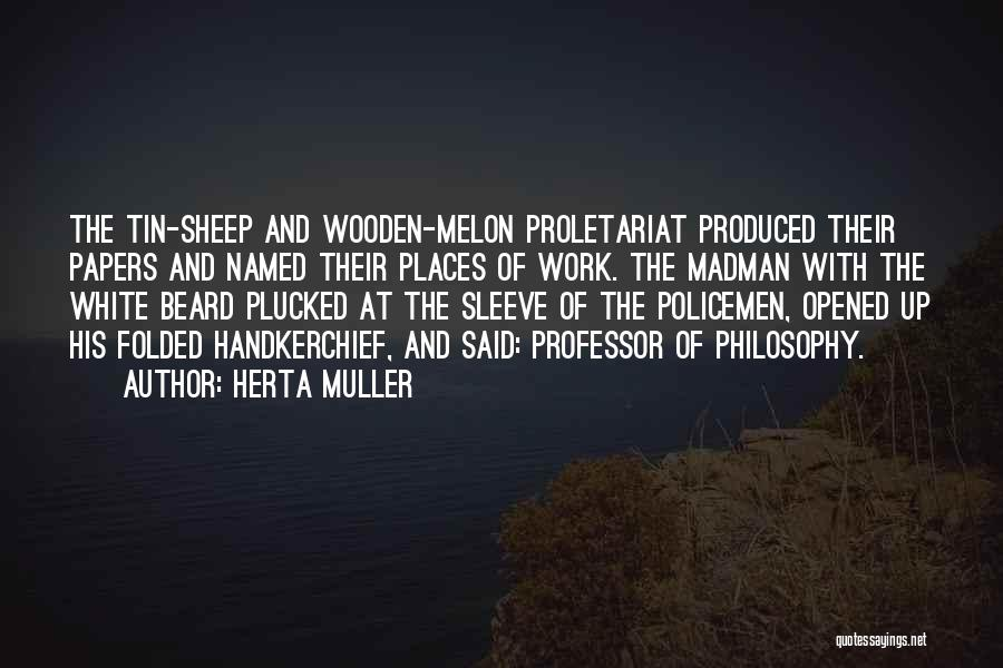 Proletariat Quotes By Herta Muller