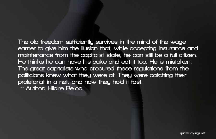 Proletariat Quotes By Hilaire Belloc