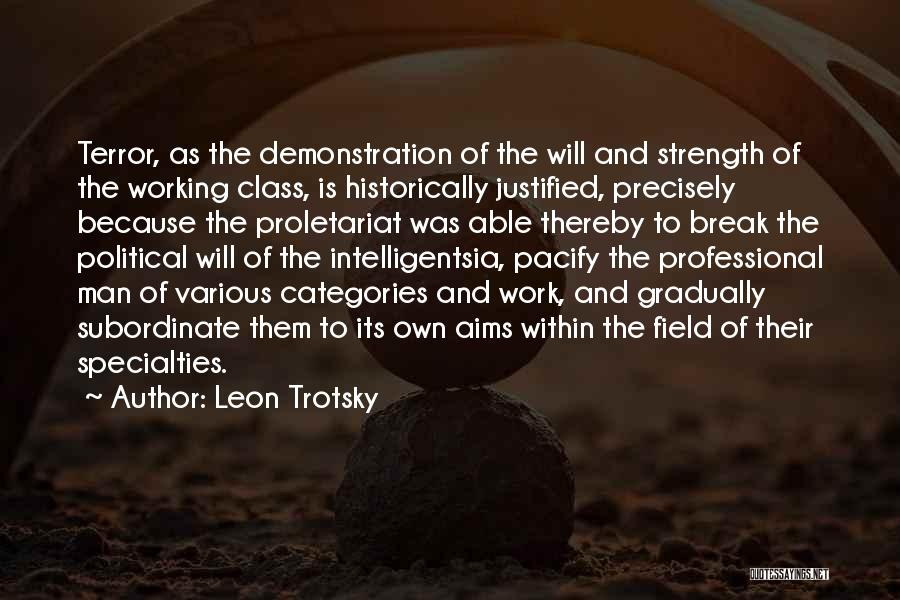 Proletariat Quotes By Leon Trotsky