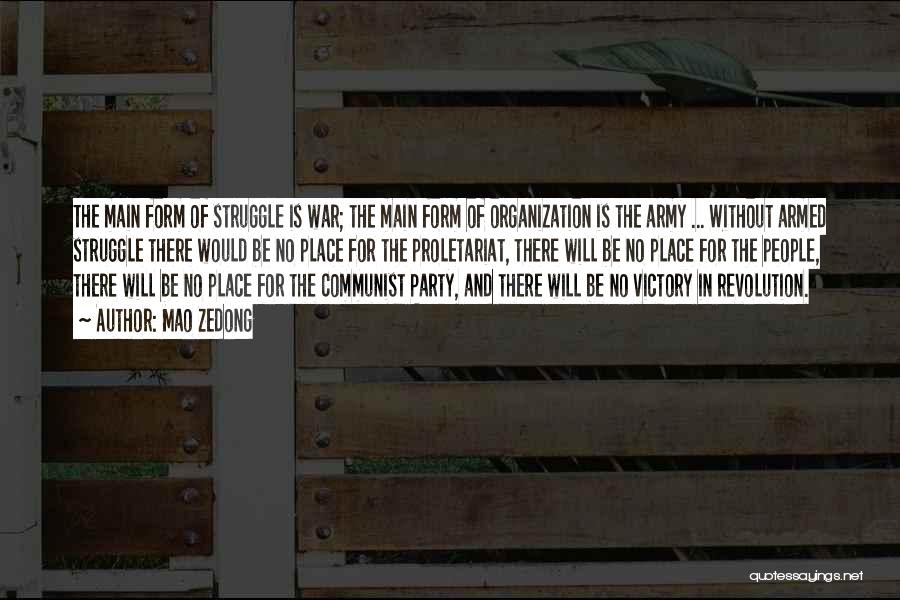 Proletariat Quotes By Mao Zedong