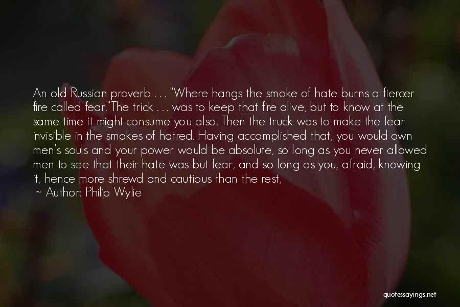 Proletariat Quotes By Philip Wylie