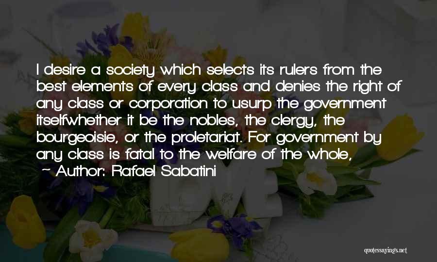 Proletariat Quotes By Rafael Sabatini