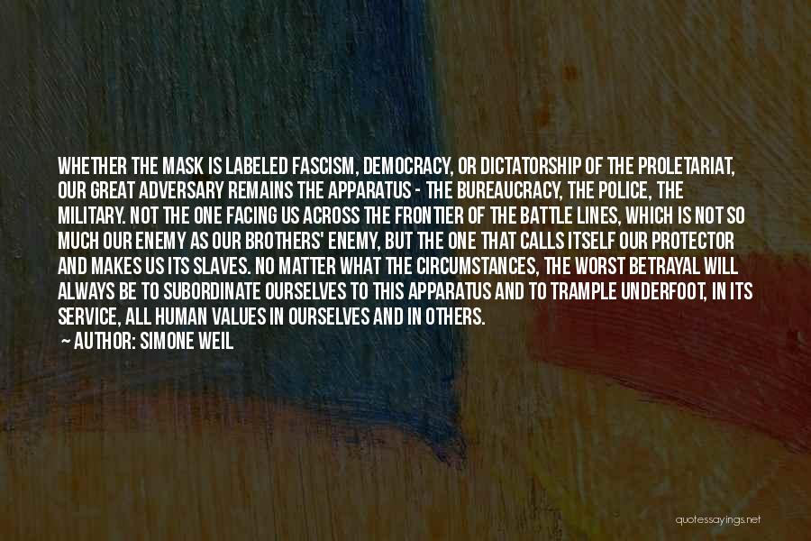 Proletariat Quotes By Simone Weil