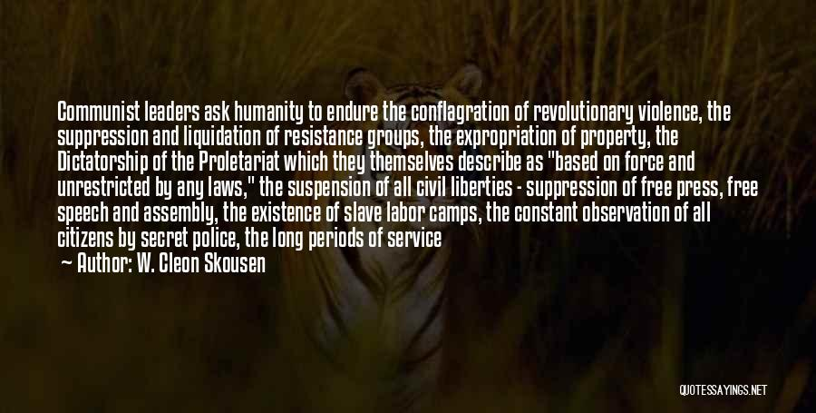 Proletariat Quotes By W. Cleon Skousen