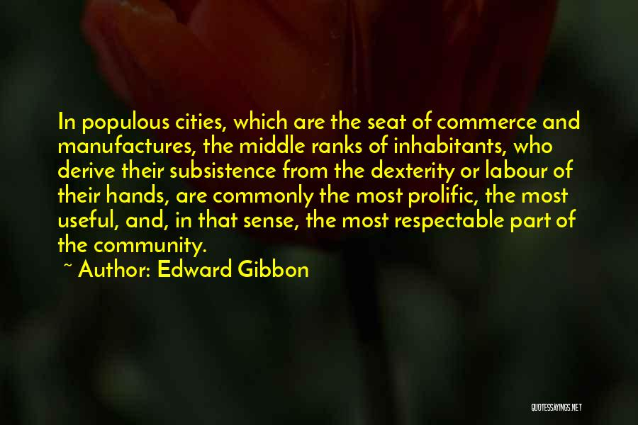 Prolific Quotes By Edward Gibbon