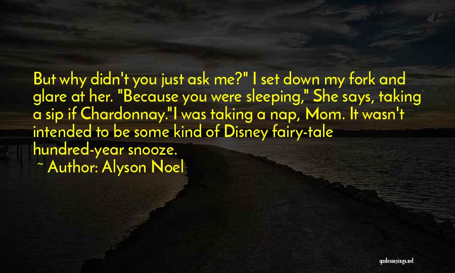 Prom Quotes By Alyson Noel