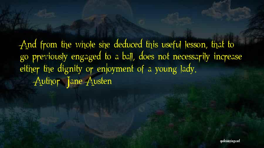 Prom Quotes By Jane Austen