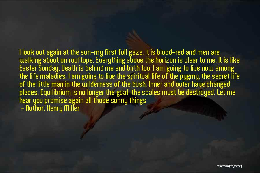Promise To You Quotes By Henry Miller