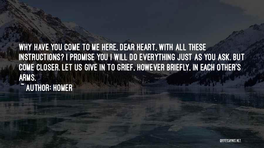 Promise To You Quotes By Homer