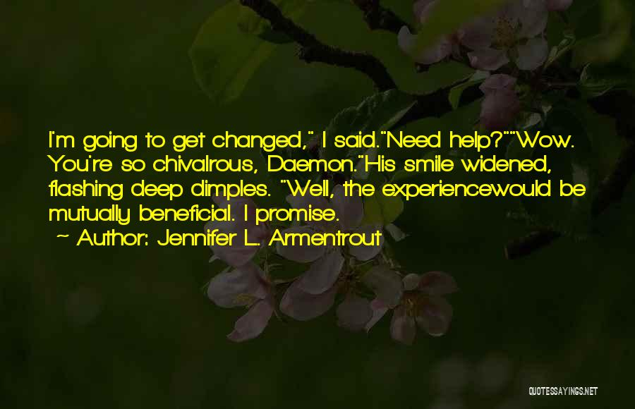 Promise To You Quotes By Jennifer L. Armentrout