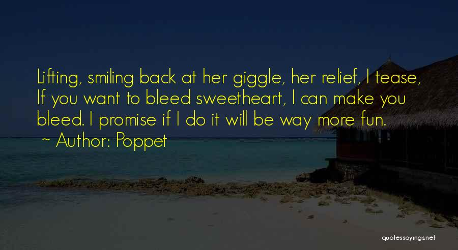 Promise To You Quotes By Poppet
