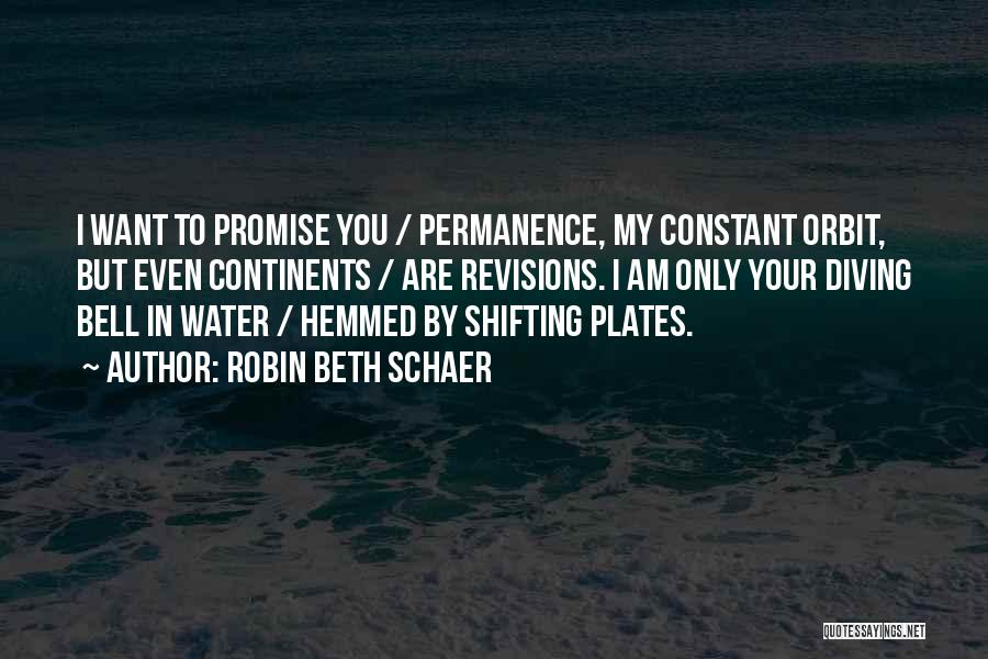 Promise To You Quotes By Robin Beth Schaer