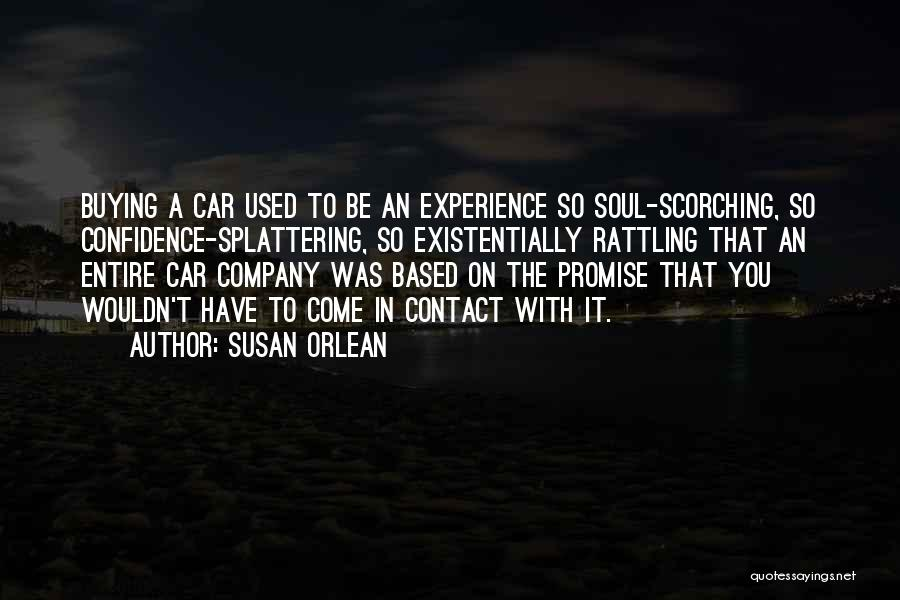 Promise To You Quotes By Susan Orlean