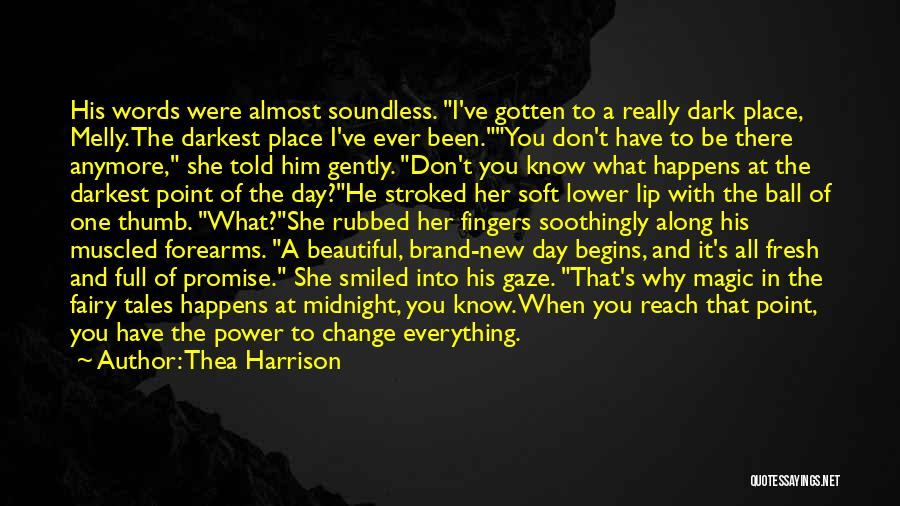 Promise To You Quotes By Thea Harrison